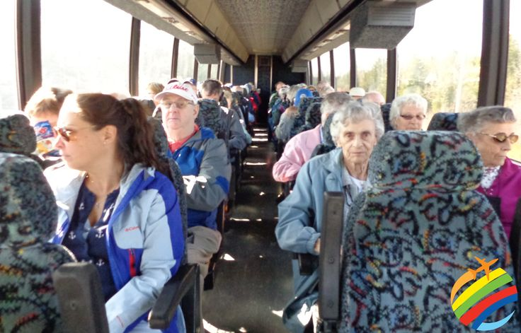 The comforts of traveling with the Mature Travel Group!