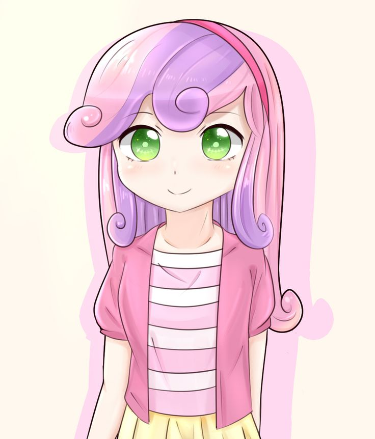 #820422 - artist:shouyu musume, cute, equestria girls, humanized, pixiv, safe, solo, sweetie belle - Derpibooru - My Little Pony: Friendship is Magic Imageboard