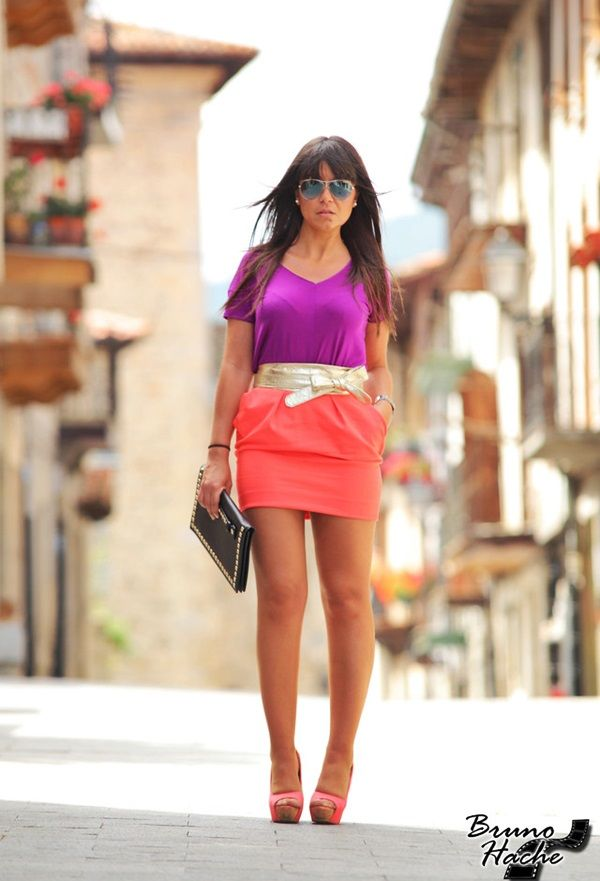 15 Seductive Outfits inspired by the color of 2014: Radiant Orchid