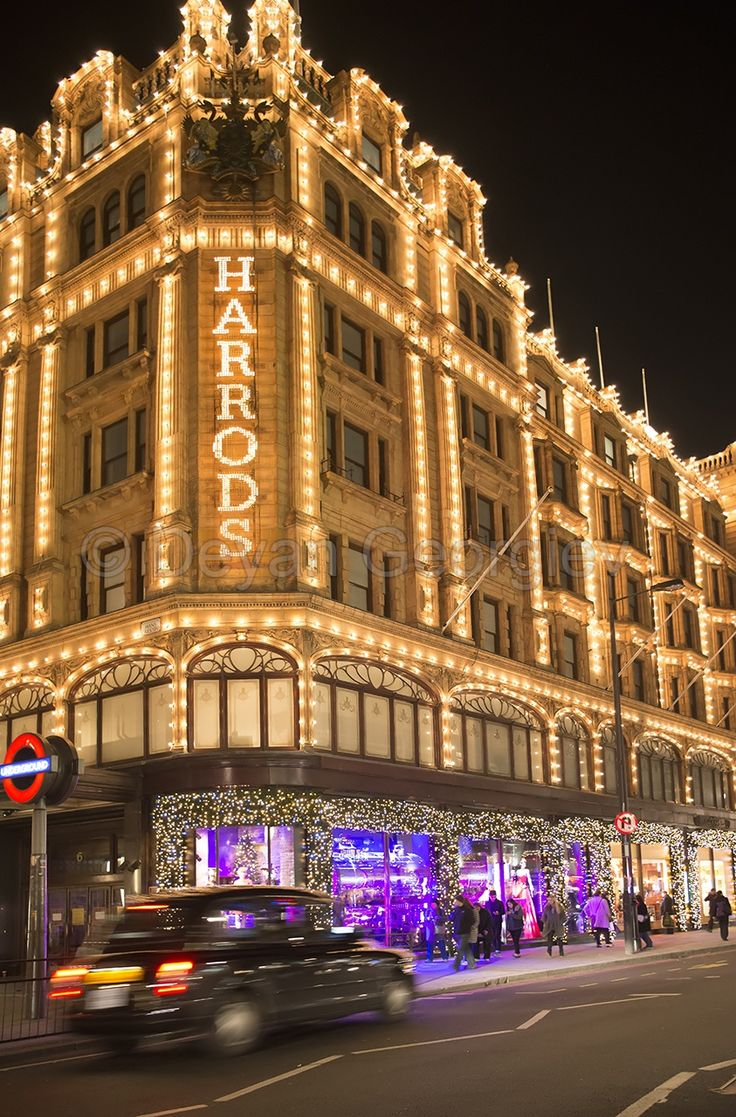 Harrods, Knightsbridge, London, UK