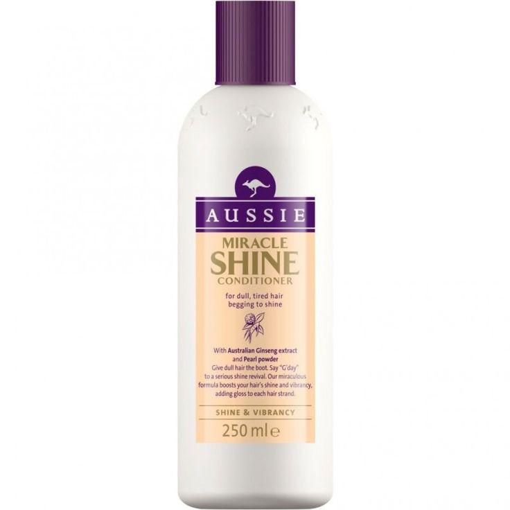 Aussie Miracle Shine Conditioner Μαλλακτική Κρέμα για Θαμπά & Ξηρά Μαλλιά 250ml. Μάθετε περισσότερα ΕΔΩ: https://www.pharm24.gr/index.php?main_page=product_info&products_id=9211