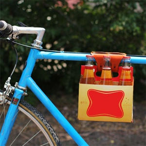 6-Pack Holder @gwen for your bike rides haha
