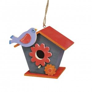 Birdhouse DIY - do it yourself. Perfect toy for a kid. #backtoschool