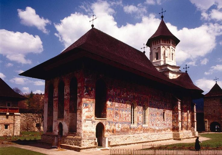 Basic things to do in Suceava and Bucovina ~ Romania Tours. The church of Sucevita is really an example of good Medieval architecture.