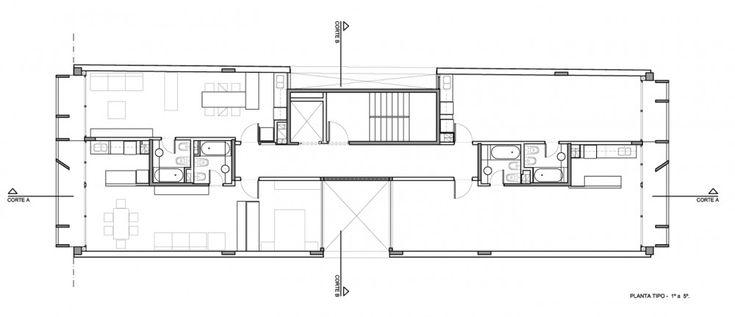Edificio EEUU 4263 - BAK Arquitectos