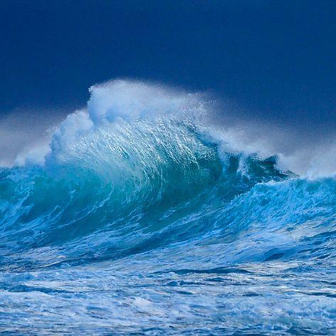 Breaking Wave at Surfer's Point - Margaret River Region of Western Australia
