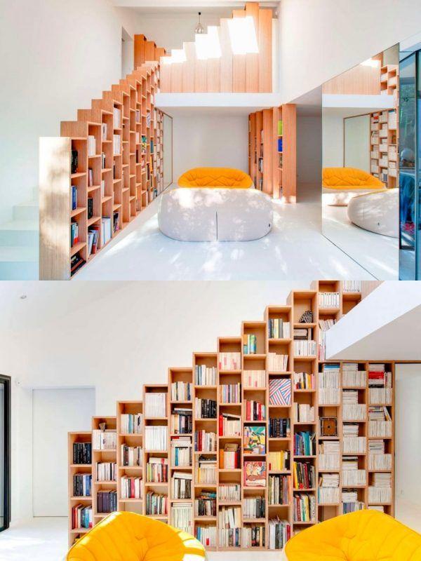 Stair Bookshelf 463 best unique bookshelf designs images on pinterest | bookshelf