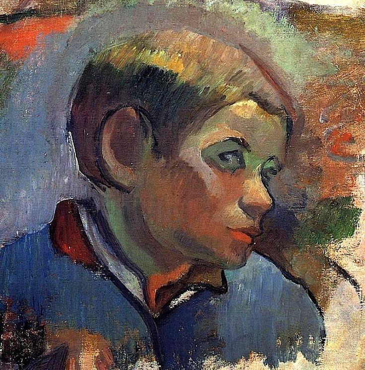 bofransson:  Portrait of a Little Boy Paul Gauguin - 1888