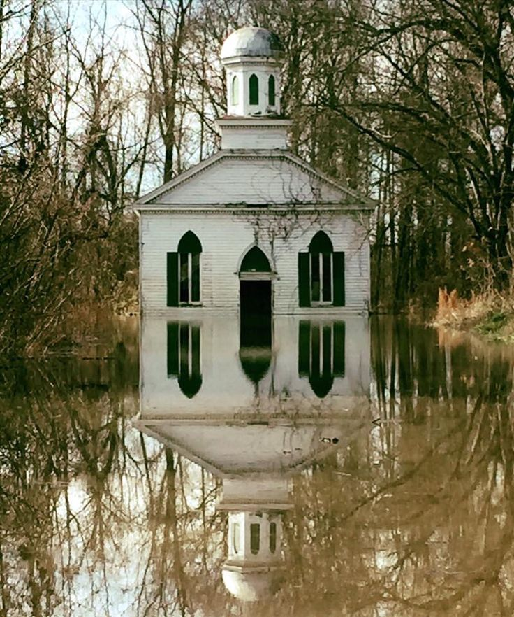 This is an abandoned church in Rodney, Mississippi. Hurricane Katrina hit this town VERY hard.