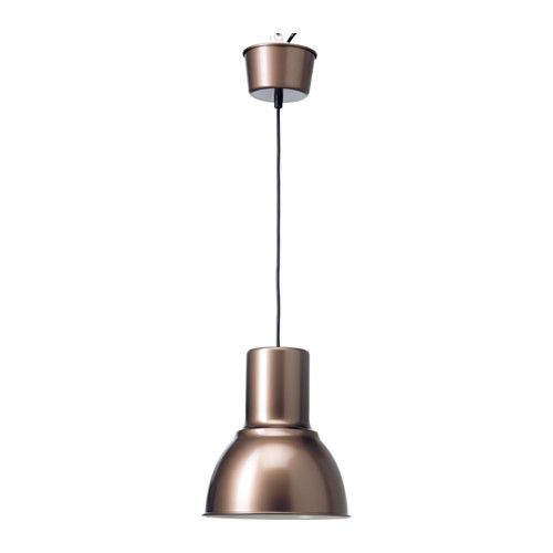IKEA - HEKTAR, Pendant lamp, , This lamp gives a pleasant light for dining and spreads a good directed light across your dining or bar table.