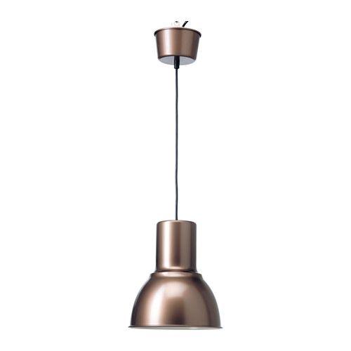 HEKTAR Kattovalaisin IKEA Luo miellyttävän ja hyvän valon ruokapöydän tai baaritason ylle. Täydennettävä KOPPLA-pistotulpalla, joka myydään erikseen.
