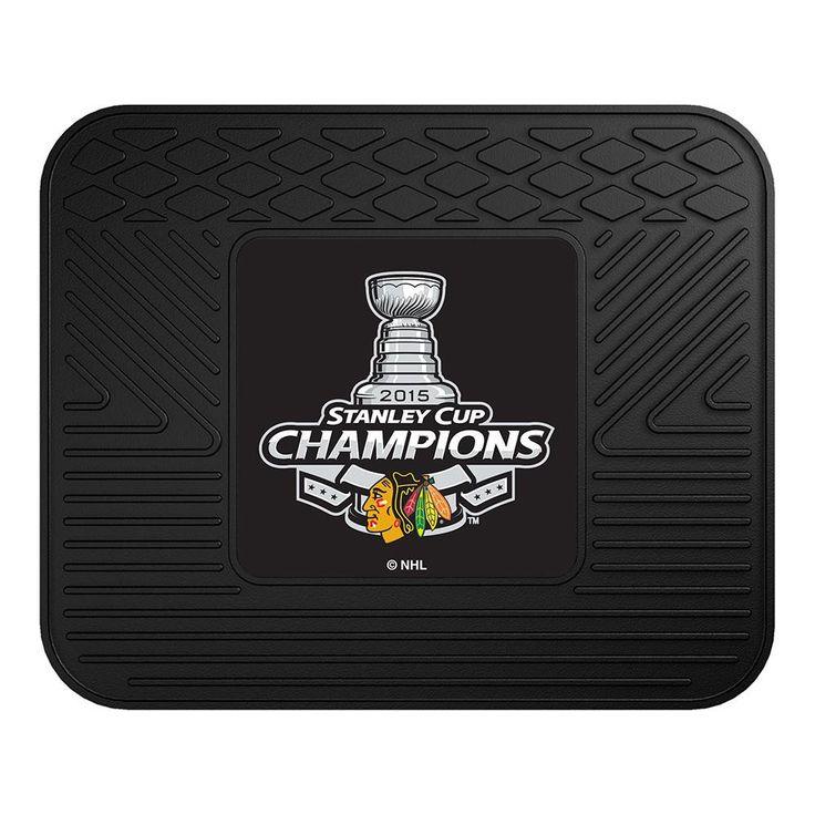 Chicago Blackhawks 2015 NHL Stanley Cup Champions Utility Mat (14x17)