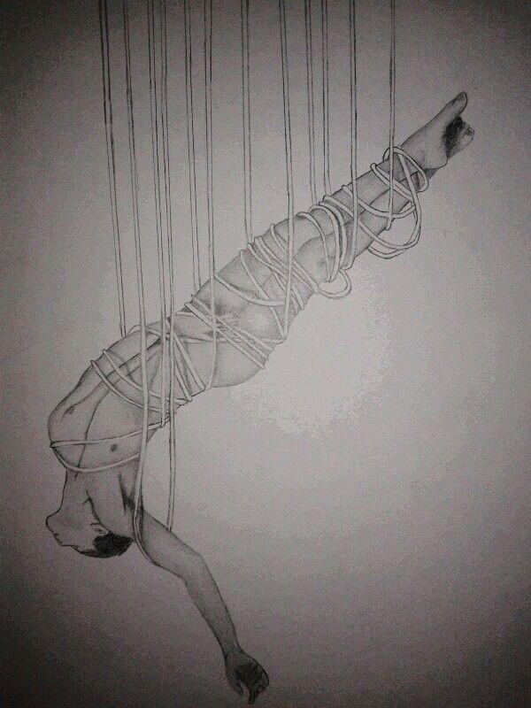 Hanging man ropes