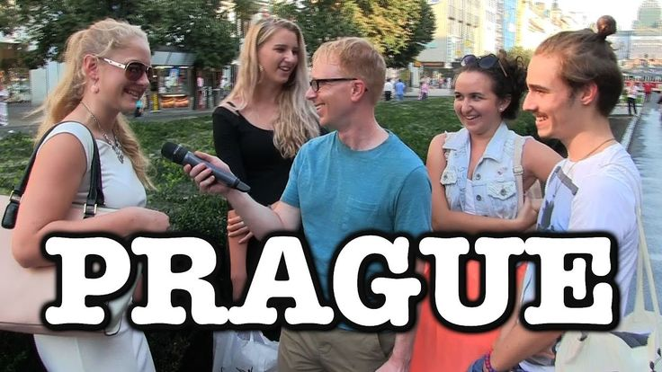 Joe Goes series coming to Prague. Sarcastic US guy interviewing locals.