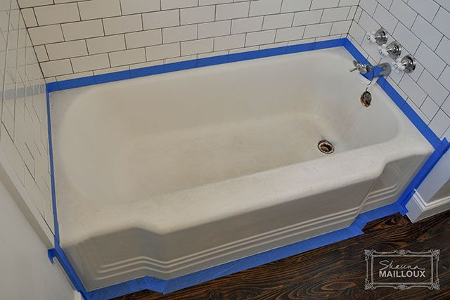 17 Best Ideas About Bathtub Refinishing On Pinterest Painting Old Bathroom