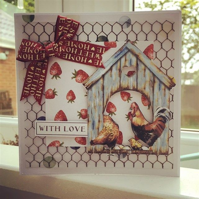 Country Life With Love | docrafts.com | StickerKitten