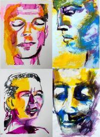 Corso Creativo Esperienziale Insegnante: Ilaria Berenice Corso in maniera continuativa sull'arte del ritratto e per tirar fuori la propria creatività intuitiva.