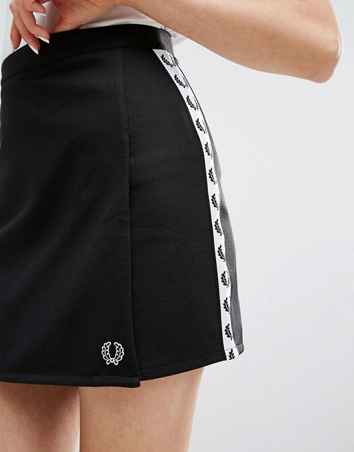 Fred Perry   Fred Perry Archive Wrap Skirt