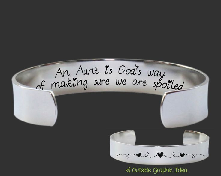 An Aunt is God's way of making sure we are spoiled. At Korena Loves, we believe in giving gifts as unique and special as those receiving them. Our custom personalized jewelry is the perfect gift for a