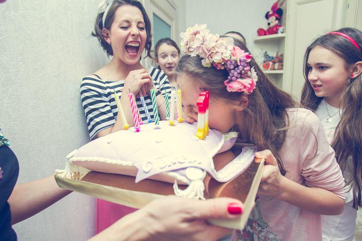 """Детский праздник """"Пижамная Вечеринка"""" в Киеве. Аниматоры на детский день рождения."""