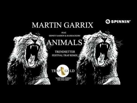 ▶ Hardwell vs Martin Garrix, Bassjackers & Sidney Samson - Animals (Trendsetter Festival Trap remix) - YouTube