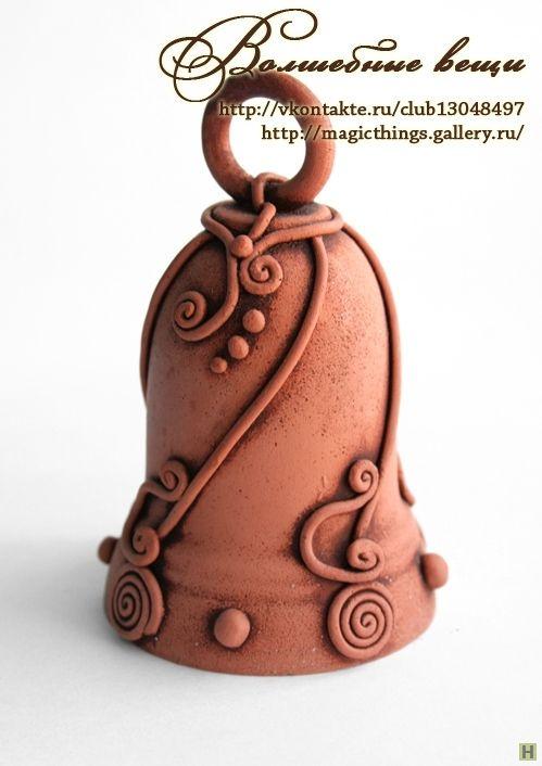 Керамический колокольчик купить недорого в интернет магазине товаров ручной работы HandClub.ru