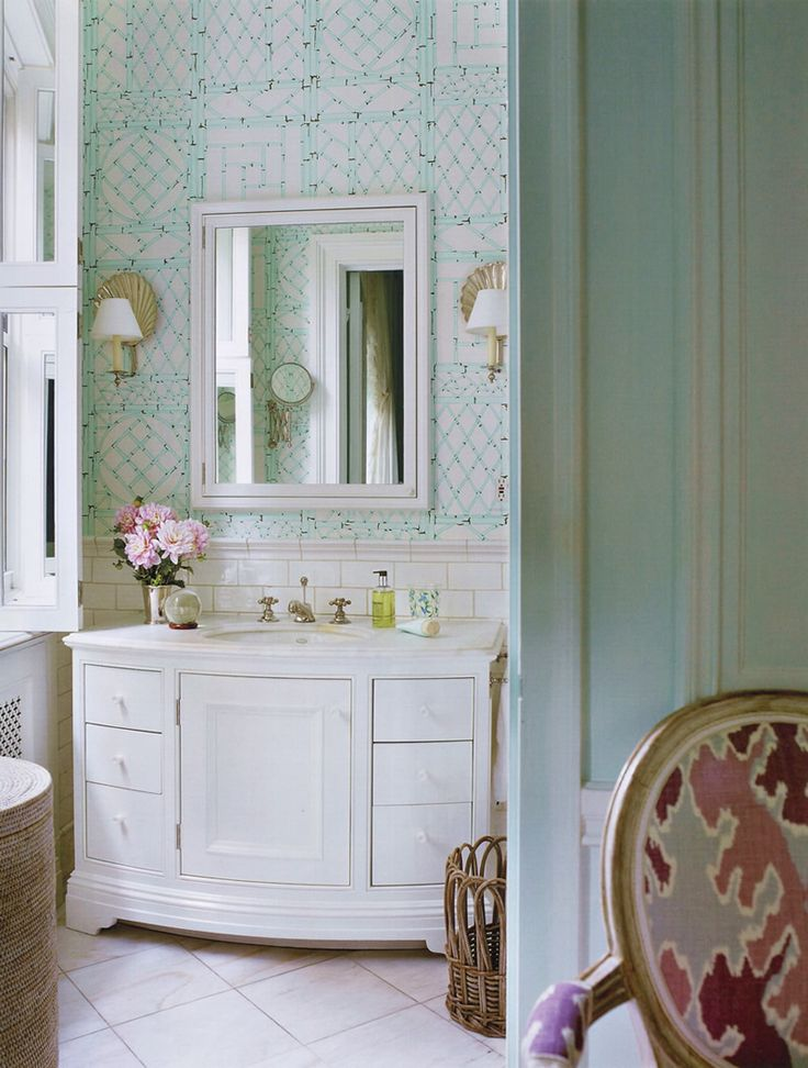 Quadrille China Seas Alan Campbell Home Couture Cp Bathrooms Pinterest