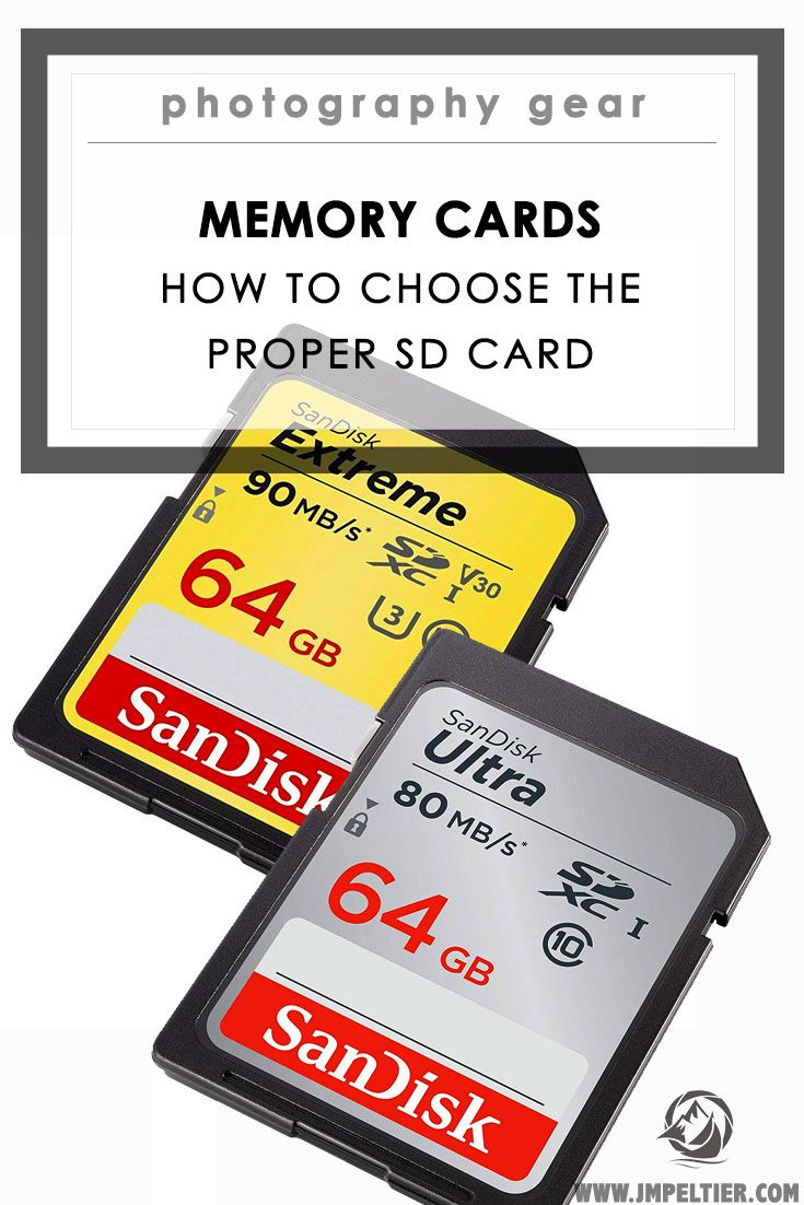 How to Choose A Memory Card: SD Card Specs Explained   photography