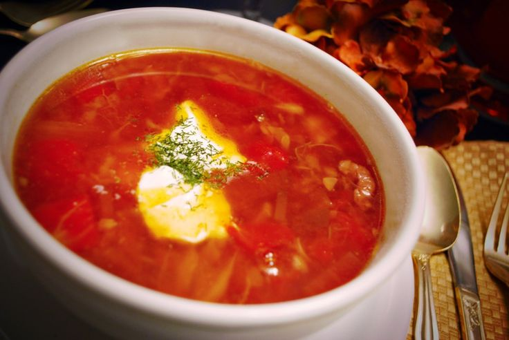 Russian Borscht served Hot {Electric Pressure Cooker Recipe} | Welcome to Peggy Under Pressure