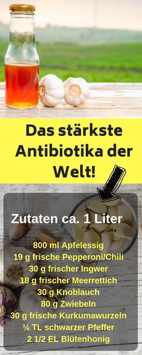 DIY: So machst du dir ein eigenes Antibiotika