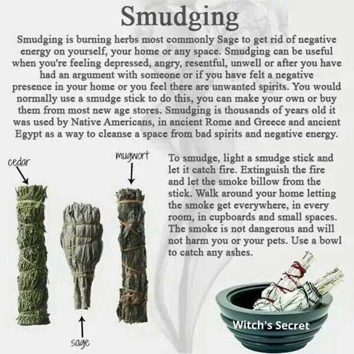http://worldpsychic.org/how-to/proper-use-smudging-purification-healing/                                                                                                                                                      More
