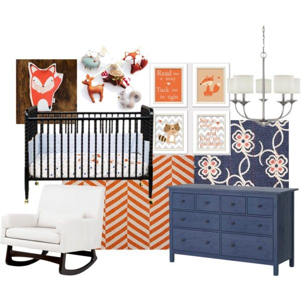 Woodland Creatures Nursery...perfect blue with orange!! Adding mustard and gray :))) ahhh cant wait!