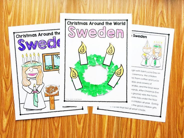 Christmas around the World Kindergarten.  Each country includes a close read for content, graphic organizers, differentiated report options, and a craft.  Perfect for first grade and second grade too.