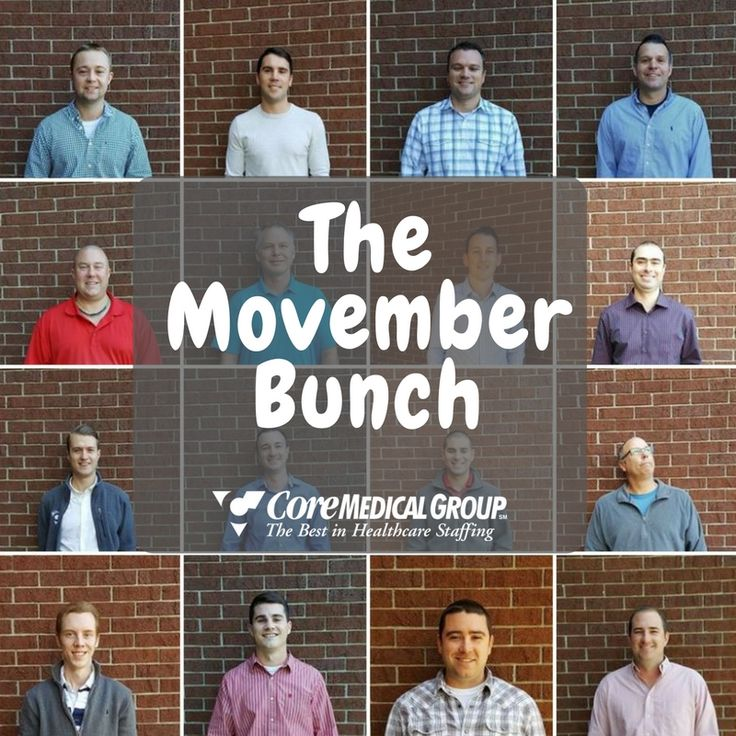Check out the photo album of our #CoreMovember clean-shaven crew at #movember #coremedical #menshealth
