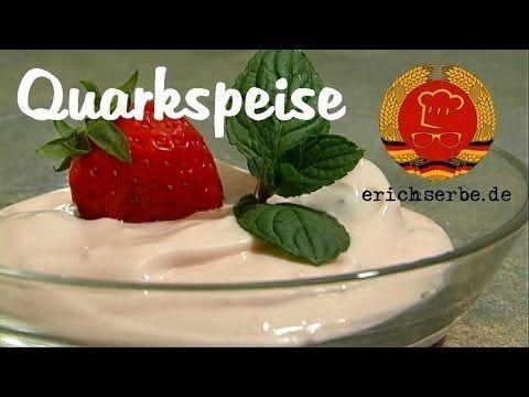 Quarkspeise - Essen in der DDR: Koch- und Backrezepte für ostdeutsche Gerichte | Erichs kulinarisches Erbe