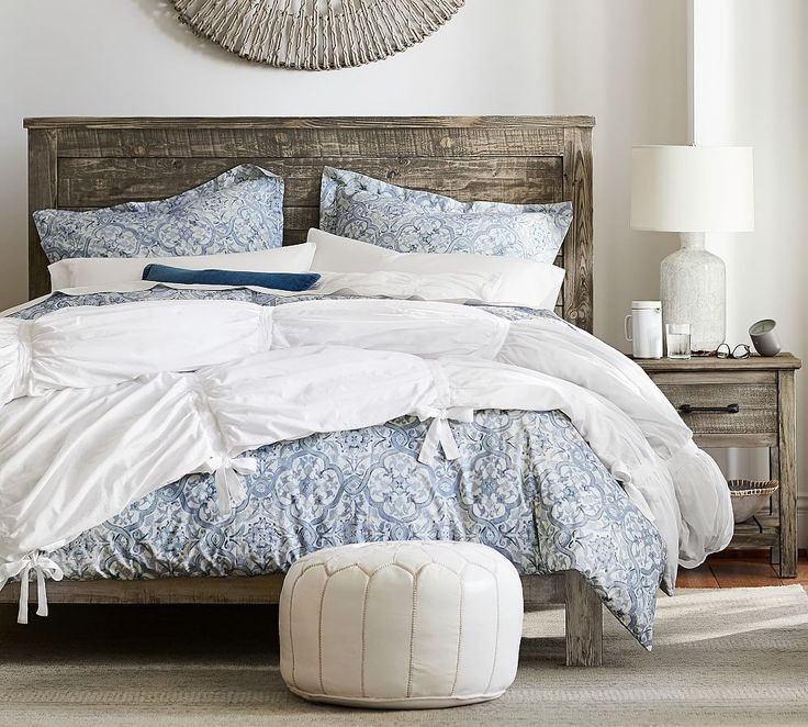 Paulsen Reclaimed Wood Bed Chic Bedroom Design Bedroom Makeover