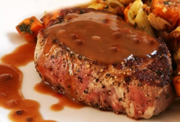 Steak au Poivre from Leite's Culinaria, This is the very Best recipe for this amazing dish. Jacque and Julia, what more needs to be said?
