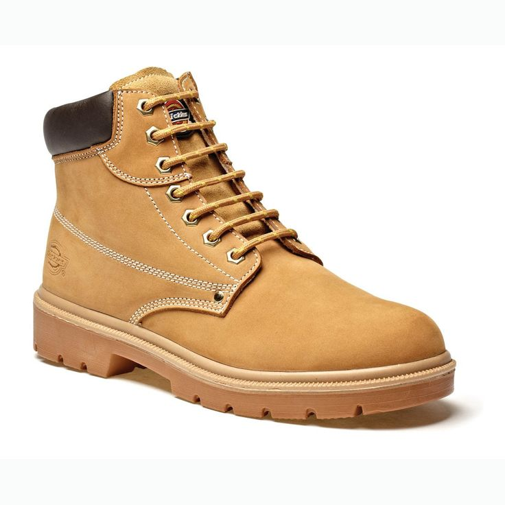 Dickies Donegal Classic Honey Nubuck Leather Unisex Safety Work Boots