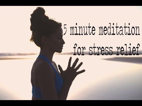 5 Minute Guided Meditation for Stress Relief — YOGABYCANDACE