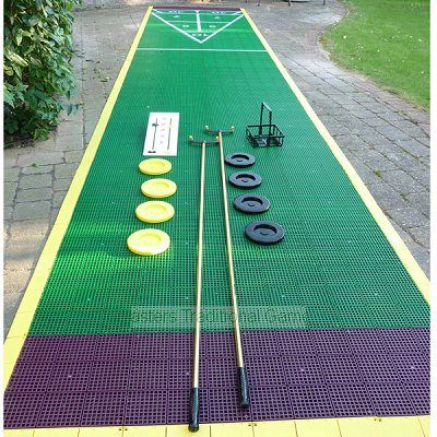 Half Mini Shuffleboard Court Package In 2020 Outdoor