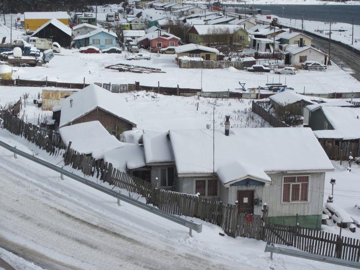 Puerto Williams, Sur de Chile.