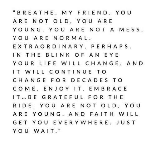 Breathe...Faith