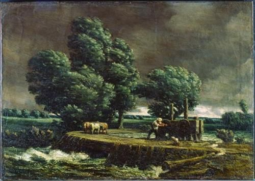 The Flood Gate - Homer Watson