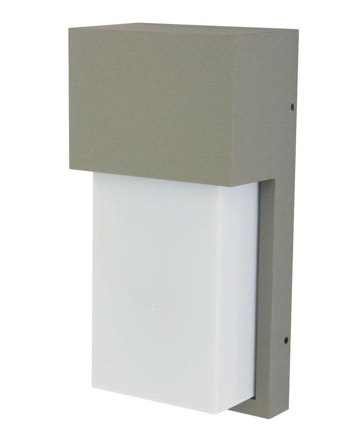 LEDlux Kato Plain Bunker in Silver | Alfresco Lighting | Outdoor Lighting | Lighting