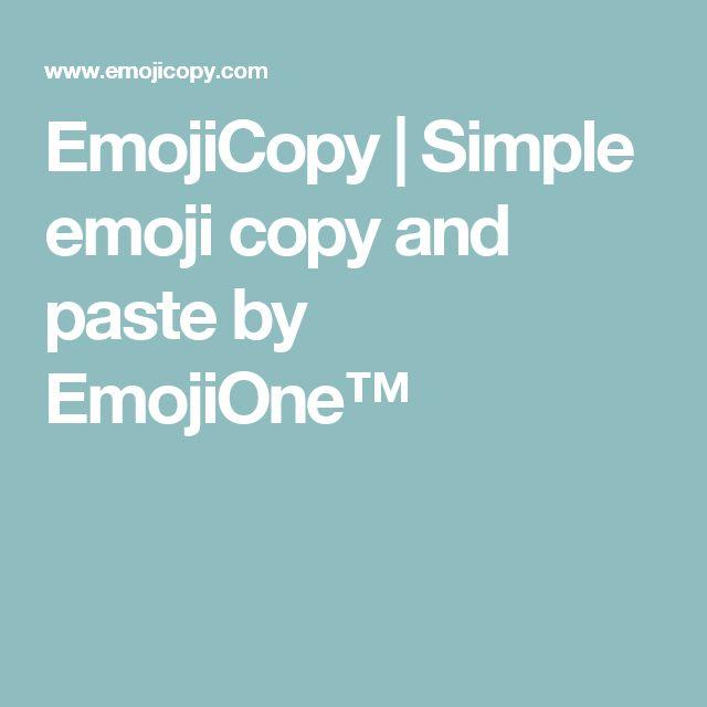 emojicopy simple emoji copy and paste by emojione