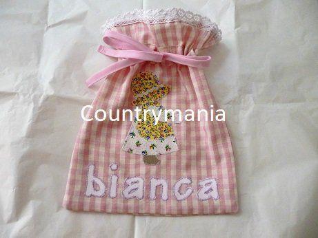 set di tovagliette e sacchetto per la scuola materna, by Countrymania, 35,00 € su misshobby.com