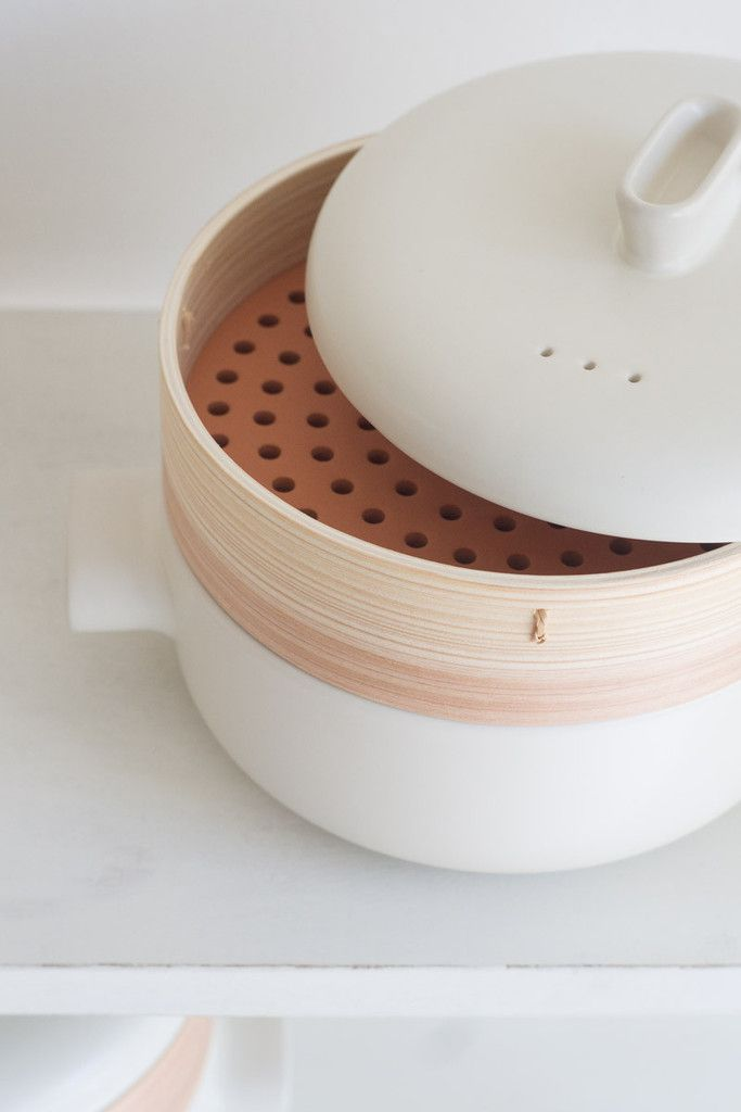 Modern Bamboo Steamer - Large | QUITOKEETO Product Design #productdesign