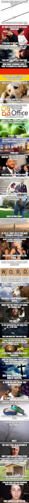 World's Funniest Two-liner Jokes