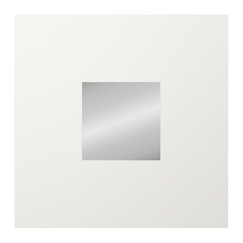 MALMA Mirror - white  - IKEA Purchase 4 I'm thinking of either combining these with the frames in the dining room, or having them stand alone on opposite wall.