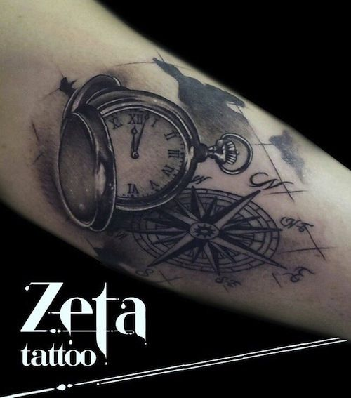 tattoo relogio - Pesquisa Google